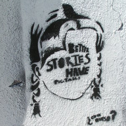 Better stories have pigtails